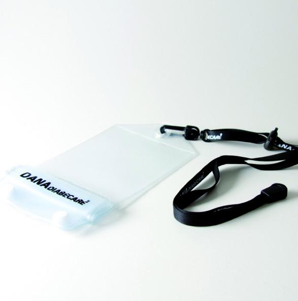 Duschbeutel transparent - für DANA Diabecare