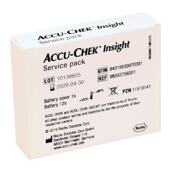 Accu-Chek Insight Service Pack - für Accu-Chek Insight