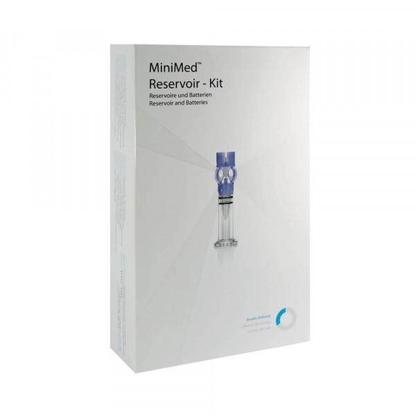 MiniMed 640G / 670G Reservoir-Kit 1,8 ml - incl. 8 Batterien / MMT-1031