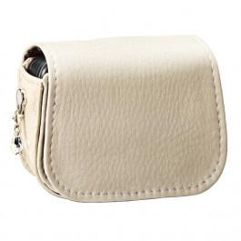 Schutzhülle Leder beige - elegant- für Accu-Chek Insight